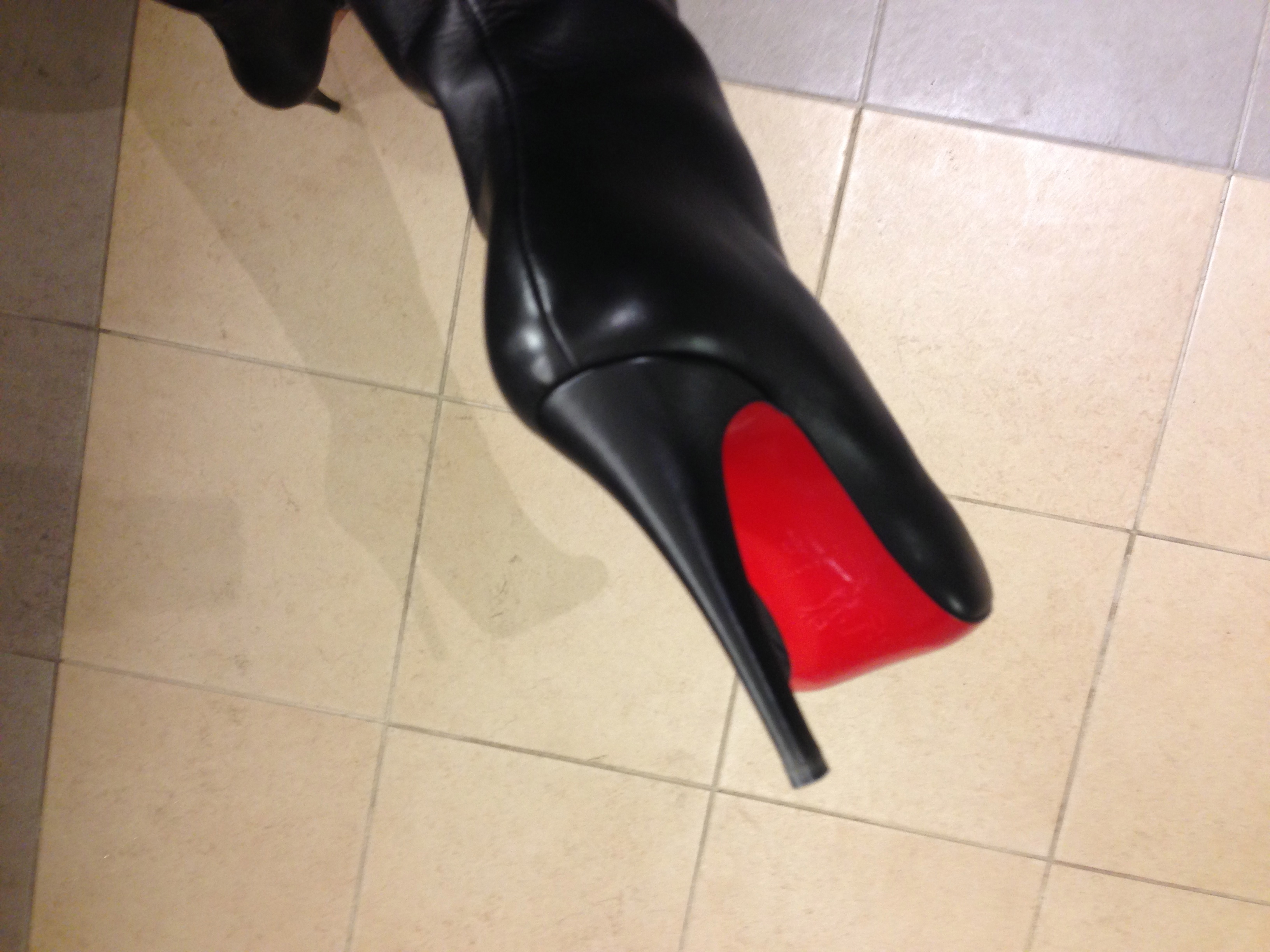 competitive price 2e0b0 81397 Embrace the red soles | Hot Heels, Cool Kicks, & a Scalpel