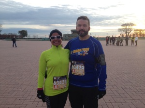 Hot Chocolate 15K: Before Race