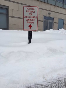 Parking for many of our surgeons inaccessible.